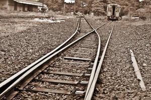 spoorweg. foto