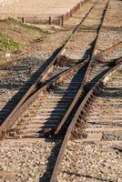 spoorwegknooppunt foto