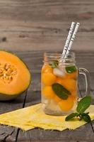 Cantaloupe meloen foto