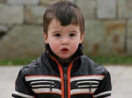 motorfiets baby foto