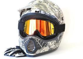 motorcross helm foto