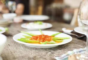 Aziatisch Vietnamees eten