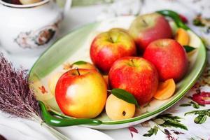 plaat van fruit