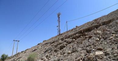 telecommunicatie-antenne en apparatuur foto
