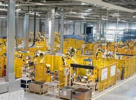 fabriek binnen