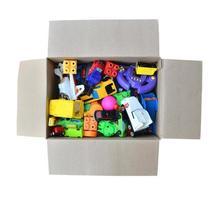 speelgoed in een doos