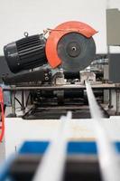 metaal snijden foto