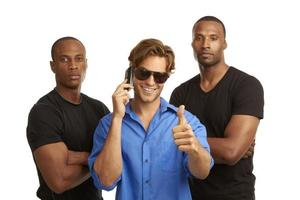 mobiele telefoon beveiliging foto