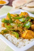 kip jalfrezi curry foto