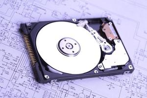 technische achtergrond foto