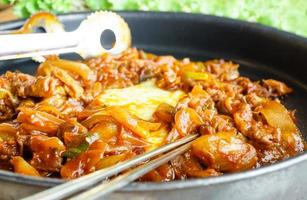 Koreaanse grill beef bulgogi