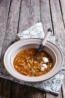 soep met groenten foto