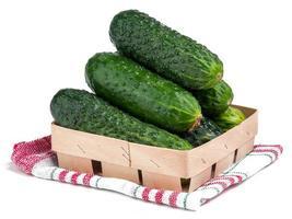 komkommer geïsoleerd foto