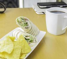 gemakkelijke lunch thuis foto