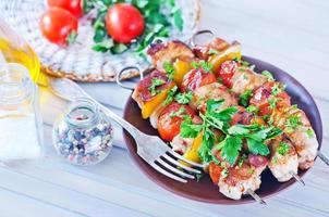 gebakken kebab foto