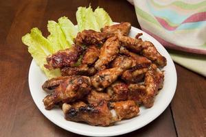 BBQ kippenvleugels