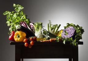 stilleven met groenten foto