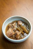 japan okinawan cuisine sōki foto