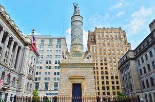 vrijheidsstandbeeld in Baltimore foto