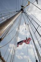 trots van de Baltimore mast foto
