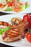 vlees met groente foto