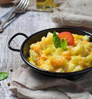 groentenragout met courgette, wortel, aardappel foto