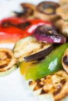 gegrilde groentes foto