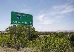 deze weg naar Albuquerque foto