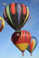 heteluchtballonnen, Albuquerque, New Mexico, VS. foto