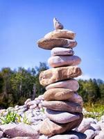 rock stapel foto