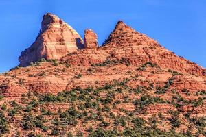rode rotsen van arizona foto