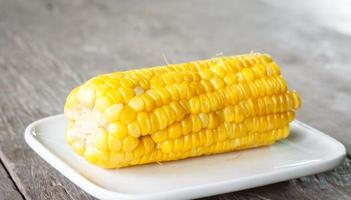 Zoete maïs foto
