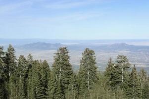 zuidwestelijk landschap - uitzicht vanaf de sandia-top foto