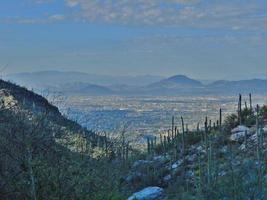 Tucson gezien vanaf het vingerrotspad foto