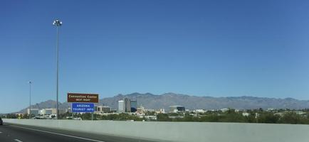 stad van het centrum van Tucson, AZ