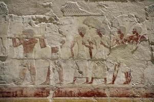 hatshepsut tempel fresco foto