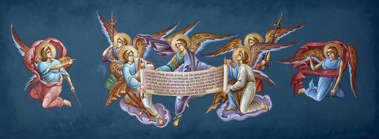 fresco's schilderijen foto