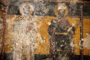 Byzantijnse fresco