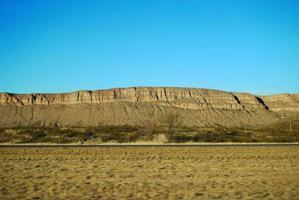 woestijn mesa foto