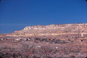 native american land, arizona 1982 foto