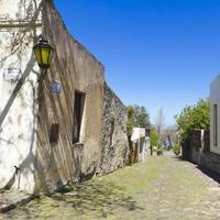 oude koloniale straat, foto