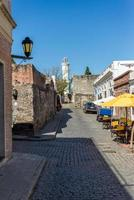 colonia de sacramento stad, uruguay, reizend zuid-amerika. foto