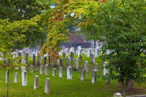 verbonden begraafplaats foto