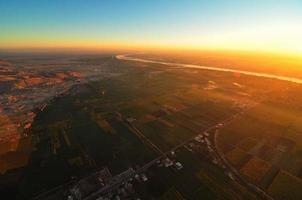 rivier de Nijl, Egypte foto