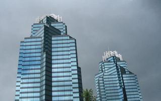 concourse skyline van atlanta foto