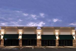 nieuwe commerciële ruimte foto