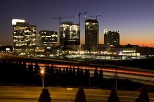 zonsondergang in Atlanta