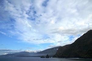 de kust van Madeira foto