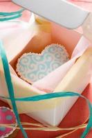 st. Valentijns taarten - stock beeld foto
