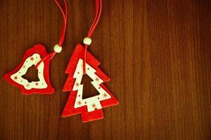 kerst decoratie foto